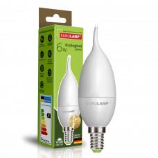 """Светодиодная EUROLAMP LED Лампа ЕКО """"Свеча на ветру"""" 6W E14 3000K"""