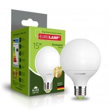 Светодиодная лампа Eurolamp G95 15W Е27 4000K (LED-G95-15274(P))