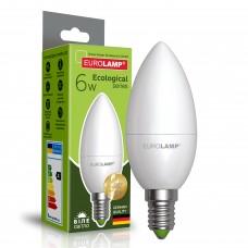 Светодиодная лампа Eurolamp CL 6W Е14 4000K (LED-CL-06144(P))