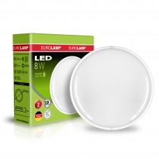 Светодиодный EUROLAMP LED Светильник круглый накладной ЖКХ 8W 5500K