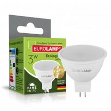 Светодиодная лампа Eurolamp SMD MR16 3W GU5.3 4000K (LED-SMD-03534(P))