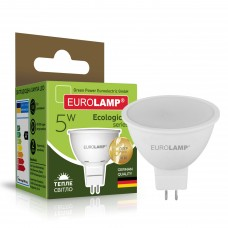 Светодиодная лампа Eurolamp SMD MR16 5W GU5.3 3000K (LED-SMD-05533(P))