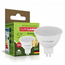 Светодиодная лампа Eurolamp SMD MR16 5W GU5.3 3000K 12V (LED-SMD-05533(12)(P))