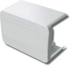Тройник/отвод, 100x40 NTAN цвет белый RAL9001
