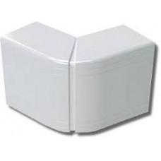 Угол внешний изменяемый 100x40 NEAV (70-120°) цвет белый RAL9001