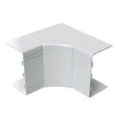 Угол внутренний неизменяемый 100x40 NIA (90°) цвет белый RAL9001
