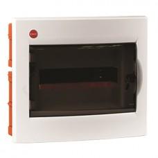 Щит встраиваемый 12 мод. с дверцей RAL9016 Ram Base,