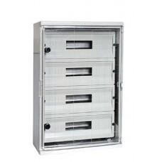 Шкаф ударопрочный e.plbox.400.500.175.54m.tr