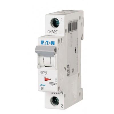Автомат выключатель PL6-C6/1 Eaton (Moeller) 286530