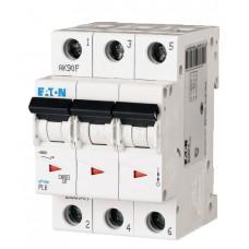 Автоматический выключатель PL6-C50/3 Eaton (Moeller) 286606