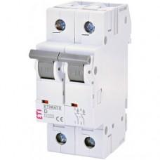 Автоматический выключатель ETIMAT P10 DC 2p C 0.5A (10kA)