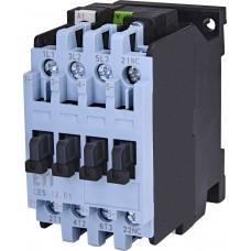 Контактор CES 12.01 (5.5 kW) 24V AC