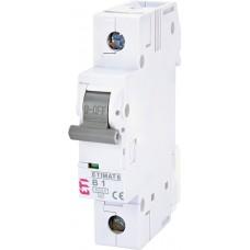 Автоматический выключатель ETIMAT 6 1p B 6А (6 kA)