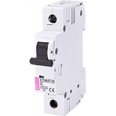 Автоматический выключатель MAT 10 1p C 6А (10 kA) ETI 2131712