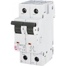 Автоматический выключатель ETIMAT 10 DC 2p C 1.6A (6kA)