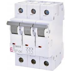 Автоматический выключатель ETIMAT 6 3p C 2A (6kA)