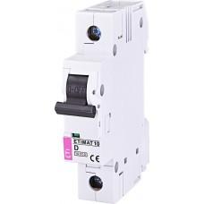 Автоматический выключатель ETIMAT 10 1p D 63А (6 kA)