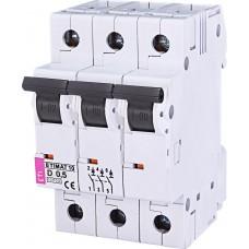 Автоматический выключатель MAT 10 3p D 0.5А (10 kA) ETI 2155701