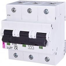 Автоматический выключатель ETIMAT 10 3p D 80А (15 kA)