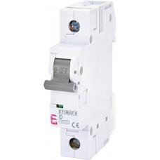 Автоматический выключатель MAT 6 1p D 2A (6kA) ETI 2161508