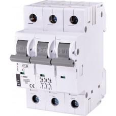Автоматический выключатель ST-68 3p C 50А (4.5 kA)