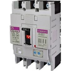 Автоматический выключатель EB2 250/3L 200А 3р (25кА) ETI 4671072