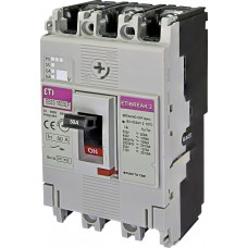 Автоматический выключатель EB2S 160/3LF 50А 3P (16kA фиксированные настройки) ETI 4671806
