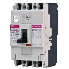Автоматический выключатель EB2S 160/3SF 160A 3P (25kA фиксированные настройки)