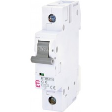 Автоматический выключатель ETIMAT 6 1p С 10А