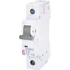 Автоматический выключатель ETIMAT 6 1p С 6А