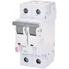 Автоматический выключатель MAT 6 2p С 25А ETI 2143518