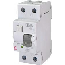 Дифференциальный автомат KZS-2M B 6/0.03 тип AC (10kA) ETI 2173101