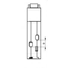 Дифференциальный автомат KZS-1M SUP C 6/0.03 тип A (6kA) с верхним подключением ETI 2175721