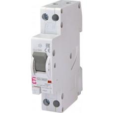 Дифференциальный автомат KZS-1M SUP C 16/0.03 тип A (6kA) с верхним подключением ETI 2175724