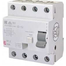 УЗО EFI-4 25/0.03 тип AC (10kA)