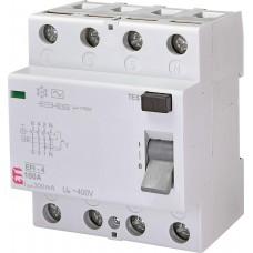 УЗО EFI-4 100/0.3 тип AC (10kA)