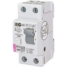 УЗО EFI-2 16/0.1 тип AC (10kA)