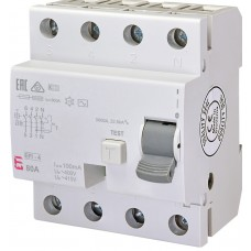 УЗО EFI-4 80/0.1 тип AC (10kA)