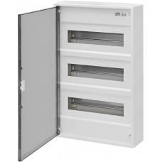 Трехрядный наружный электрощиток ACT 36 PT 36+6 с прозрачной дверцей ETI 1100242