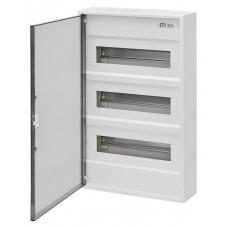 Трехрядный наружный электрощиток ACT 36 PO 36+6 с белой дверцей ETI 1100245