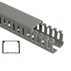 Перфорированный кабель канал 80х60 ИМПАКТ- М (16 м)