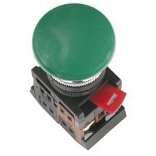 Кнопка AEА-22 «Грибок» зеленая Ø22мм 1з+1р IEK BBG30-AEA-K06