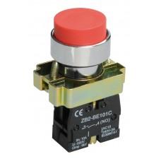 Кнопка LAY5-BL41 красная 1з