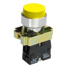 Кнопка LAY5-BL51 желтая 1з