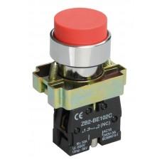 Кнопка управления LAY5-BL42 красная 1р (размыкающий контакт)