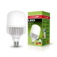 Светодиодная лампа высокомощная 30W E27 6500K Eurolamp LED-HP-30276