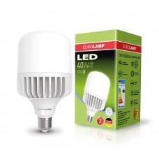 Светодиодная лампа высокомощная 40W E27 6500K Eurolamp LED-HP-40276