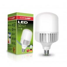Светодиодная лампа высокомощная 50W E40 6500K Eurolamp LED-HP-50406