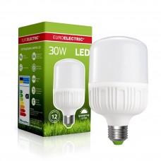 Светодиодная EUROELECTRIC LED Лампа высокомощная 30W E27 6500K