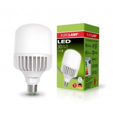 Светодиодная лампа высокомощная 30W E27 4000K Eurolamp LED-HP-30274